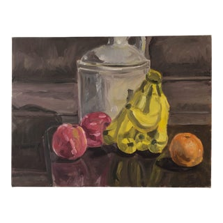 Original Still Life With a Jug and Bananas For Sale