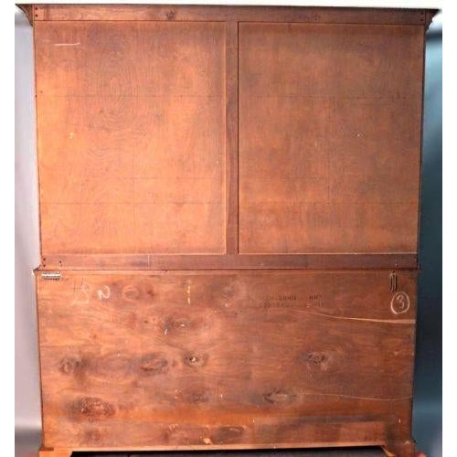 Brown Pennsylvania House Early American Cherry Hutch For Sale - Image 8 of 10