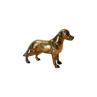 Heavy Brass Labrador For Sale