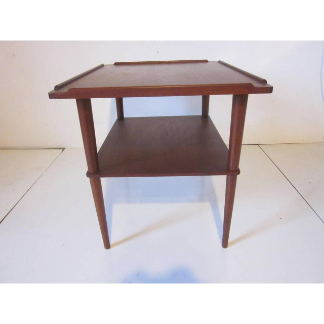 Mid-Century Modern Arne Hovmand-Olsen Danish Side Table For Sale - Image 3 of 7