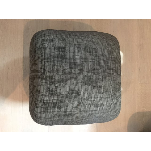 Pouf-Style Brown Ottomans - A Pair - Image 6 of 7