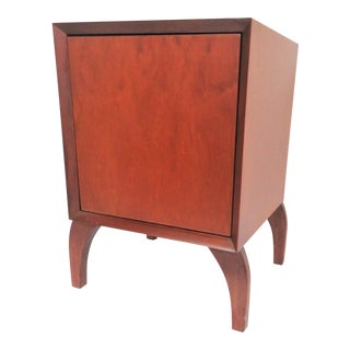 Mid Century Modern Style Cherry Nightstand For Sale