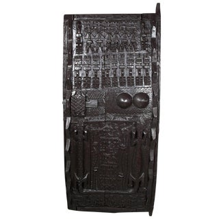 African Carved Wooden Door For Sale