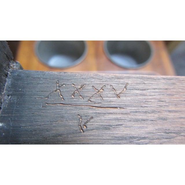 De Bournay Rafraichissoir Table With Marble Top - Image 6 of 10