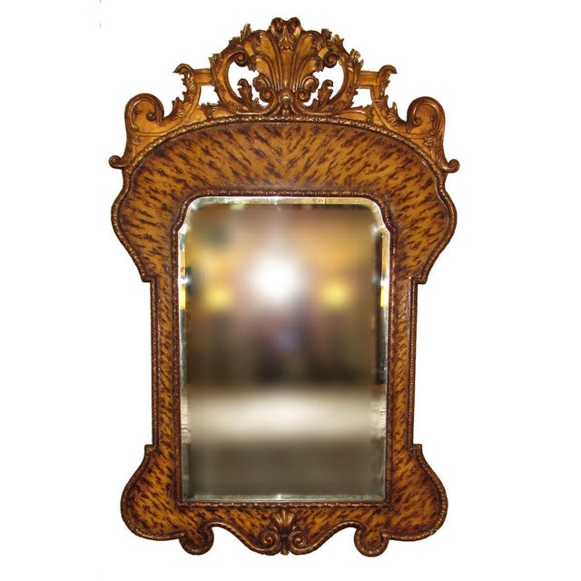Theodore Alexander Hand Carved Mirror For Sale - Image 9 of 9