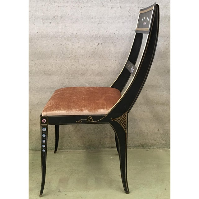 Metal Vintage Early Regency Gustavian Bellman Chairs- Set of 6 For Sale - Image 7 of 10