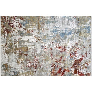 "Nalbandian - Contemporary Turkish Cosmos Carpet - 6'5"" X 9'7"" For Sale"
