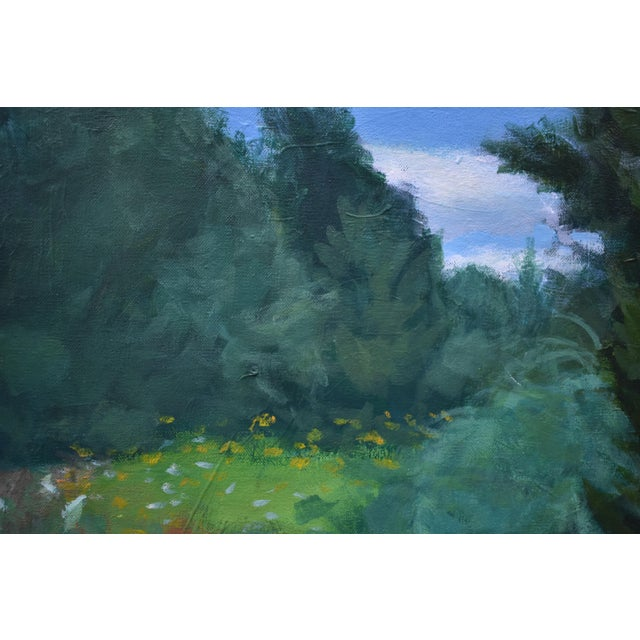 """Stephen Remick Contemporary Plein Air Painting by Stephen Remick, """"Uphill, Into the Sun"""" For Sale - Image 4 of 13"""