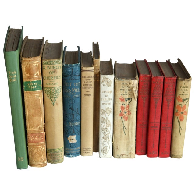 Antique & Vintage Book Collection - Set of 12 - Image 1 of 7