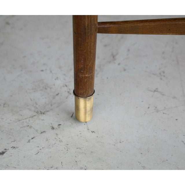 Beech Set of Six Ole Wanscher Attributed Danish Midcentury Dining Chairs For Sale - Image 7 of 10