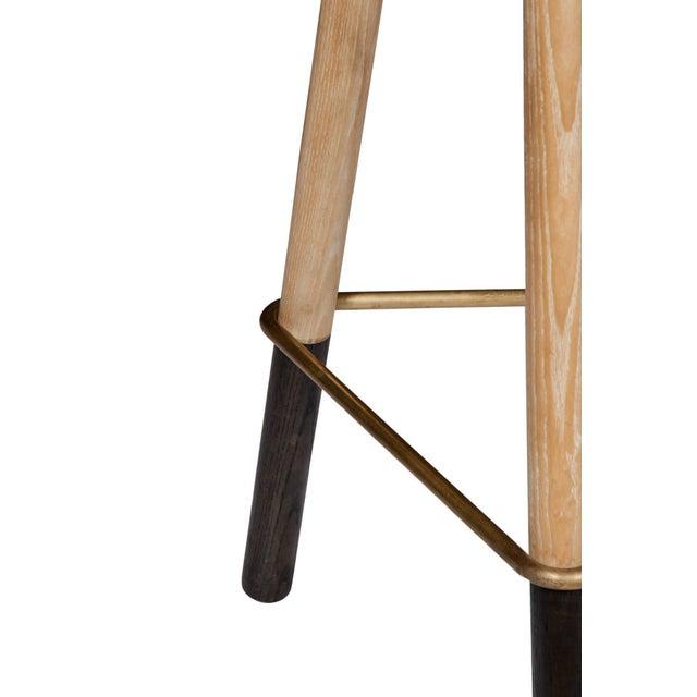 Erickson Aesthetics Solid Ash Tripod Stool - Image 5 of 5