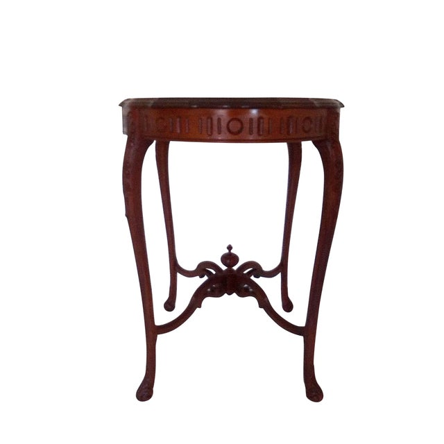 Weiman 1920s Weiman Heirloom Occasional Walnut Centre Table For Sale - Image 4 of 6