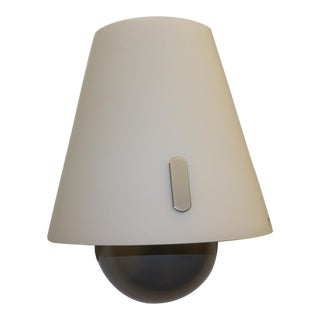 Late 20th Century Mid-Century Modern Murano Glass Wall Lamp For Sale