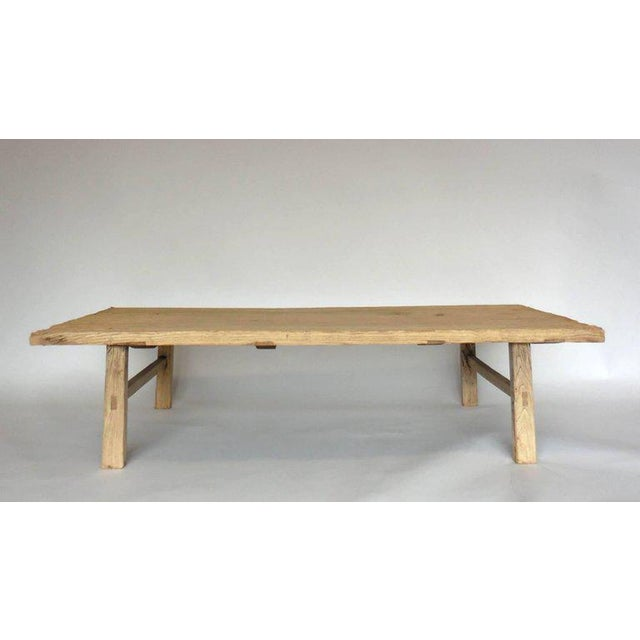Northern Japanese Elm Cocktail Table For Sale - Image 10 of 10