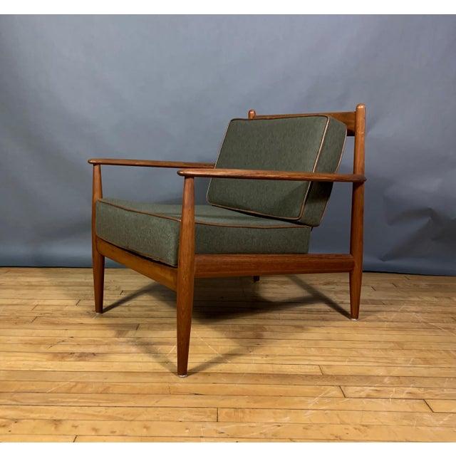 1950s Grete Jalk Armchair, France & Deverkosen, Denmark For Sale - Image 12 of 12