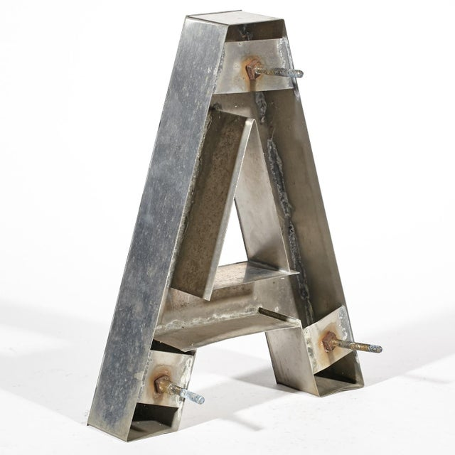 """Aluminum """"A"""" Letter - Image 4 of 4"""
