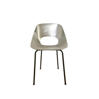 "Pierre Guariche ""Tonneau"" Cast Aluminum Chair"