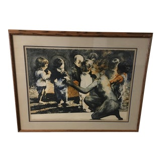 """""""The Gift"""" Ruth Weisberg Lithograph"""