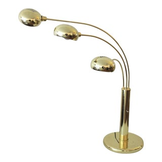 Brass Waterfall Lamp, 1970s