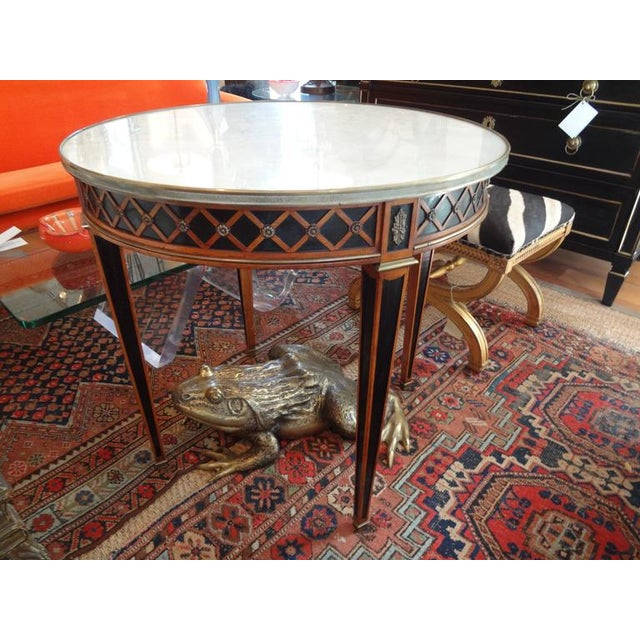 1940 French Louis XVI Style Maison Jansen Table For Sale In Houston - Image 6 of 8