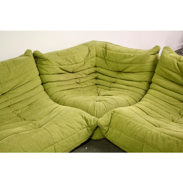 Textile Modern Ligne Roset Togo Sofa For Sale - Image 7 of 13