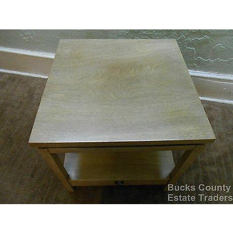 American of Martinsville Cathay Casuals Mid Century End Table (James Mont Era) For Sale In Philadelphia - Image 6 of 13