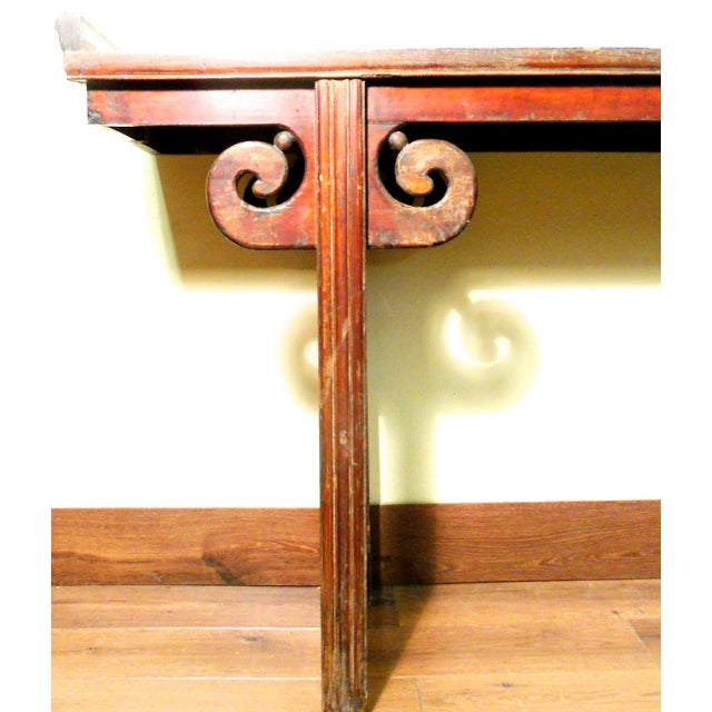 Antique Chinese Ming Altar Table, 1800-1849 For Sale - Image 9 of 11