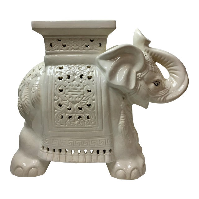 Elephant Garden Stool - Image 1 of 5