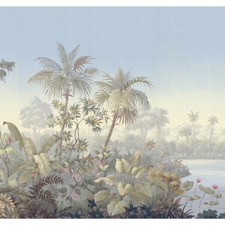 "Casa Cosima Pastel Jacinda Wallpaper Mural - 5 Panels 180"" W X 120"" H For Sale"