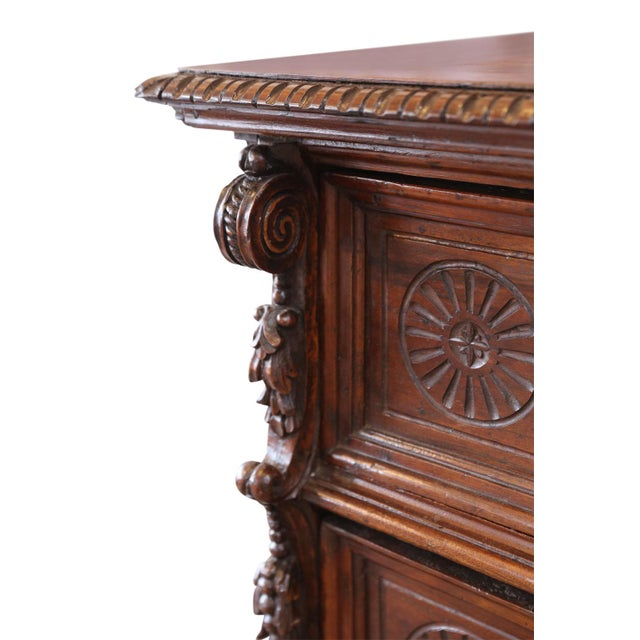 17th Century Chest-Of-Drawers For Sale In Houston - Image 6 of 12