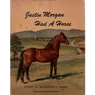 """1945 """"Justin Morgan Had A Horse"""" Coffee Table Book For Sale"""