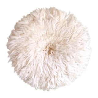 Contemporary White Juju Hat For Sale