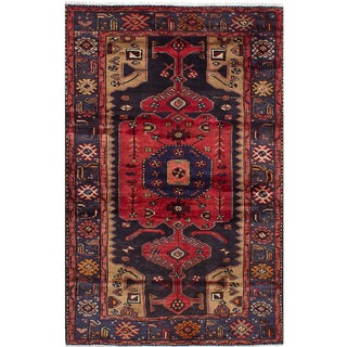 Vintage Mid-Century Persian Rug - 3′10″ × 6′5″ For Sale