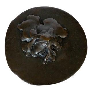 Bruce Fier Bronze Sculpture, Mass Movement #5 For Sale