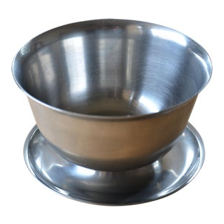 Danish Modern Stainless Steel Sauce Bowl