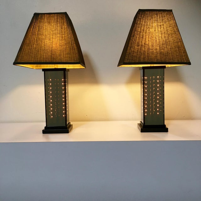 Modern 1970s Table Lamps by Lifeline - A Pair For Sale - Image 3 of 9