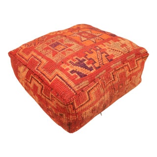 Moroccan Unstuffed Pouf Cover For Sale