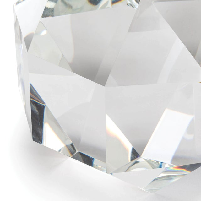 Not Yet Made - Made To Order Crystal Octahedrons Small For Sale - Image 5 of 6