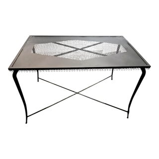 20th Century French Iron Table or Console For Sale