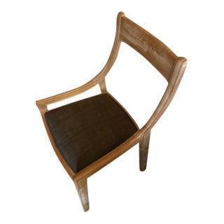 Modern Regency-Inspired Chair For Sale