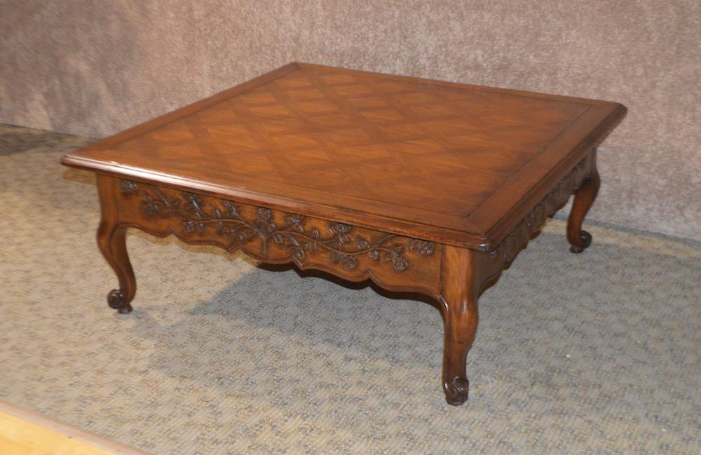1960s French Country Drexel Style Two Drawer Cocktail Table For Sale In  Philadelphia   Image