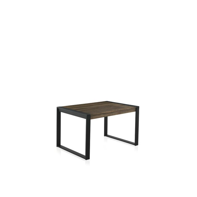 New Extendable Dining Table for Indoor and Outdoor With Wood Top For Sale - Image 9 of 9
