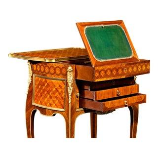 Louis XV-Style Side Table by L'Escalier De Cristal For Sale