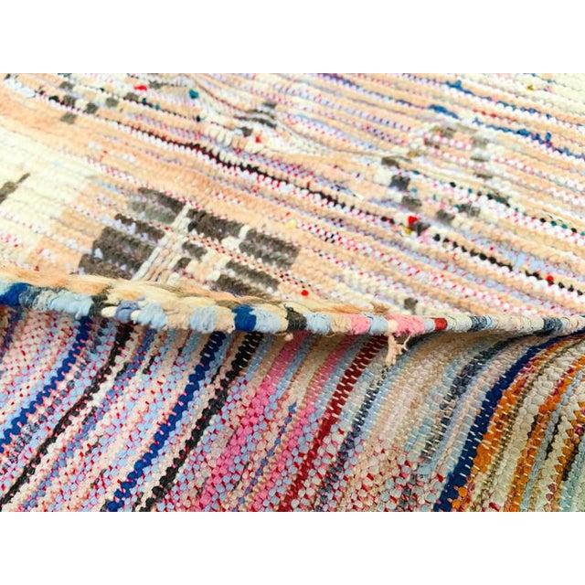 Vintage Berber Handmade Rug- 2′9″ × 4′1″ For Sale - Image 9 of 11