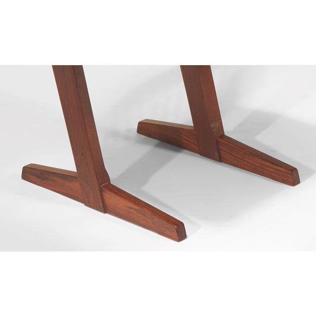 Vintage George Nakashima, Rare Sculptural Conoid Chairs- A Pair For Sale - Image 9 of 11