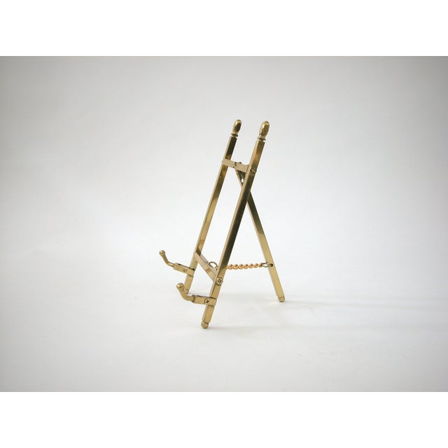 Folding Brass Easel- on Hold - Not for Sale - Image 4 of 6