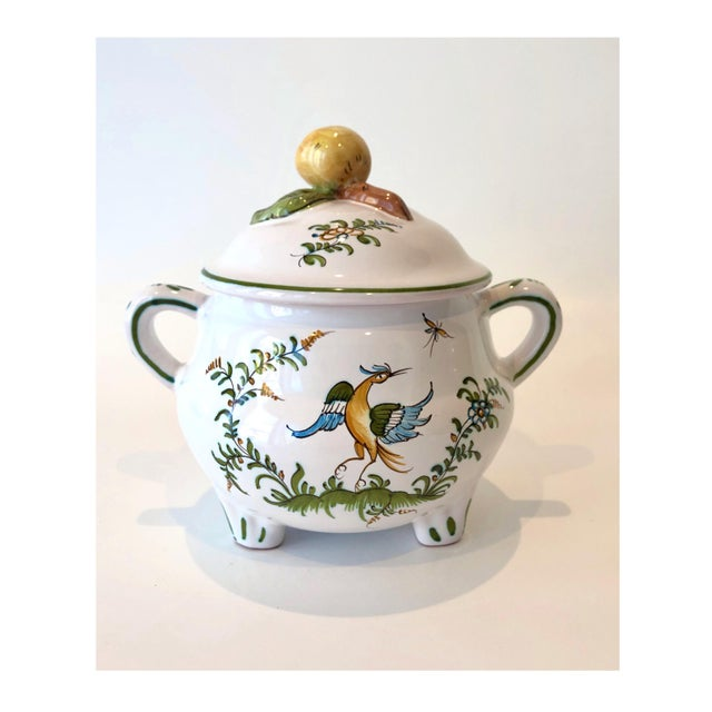 Provencal Earthenware Serving Pot For Sale - Image 12 of 12