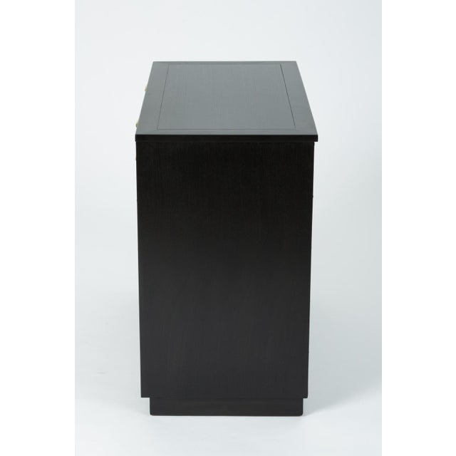 Ebonized Chest of Drawers From Edward Wormley's Precedent Collection for Drexel For Sale In Los Angeles - Image 6 of 13