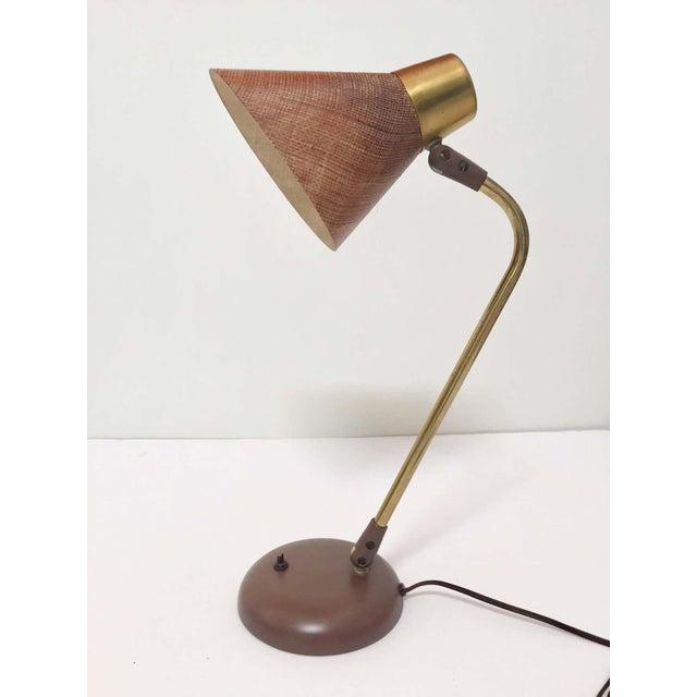 Lightolier Gerald Thurston Desk Table Lamp for Lightolier, 1950s For Sale - Image 4 of 13