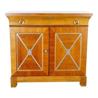 Hekman Biedermeier Style Cabinet For Sale